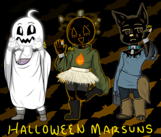 ADOPTS : Spooky Marker Pals (SOLD OUT) by An-Ink-Thingy