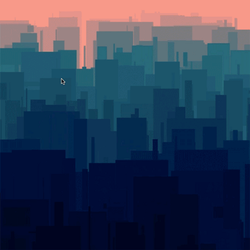 PixelBomb on Skyline by GG-sign