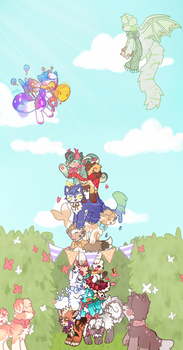 [a-mazing hedges entry] Tower?!?! by Dawnan