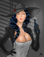Madame Mirage Commission by TR1Byron