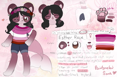 Esther Roses Ref! by paintyneko