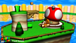 (MMD Stage) Toad House Download by SAB64