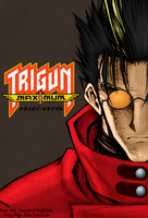 Trigun Maximum: Vash (full color) by EdenEvergreen