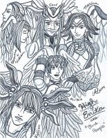 Xenoblade Chronicles sketch 9 by LadyJuxtaposition