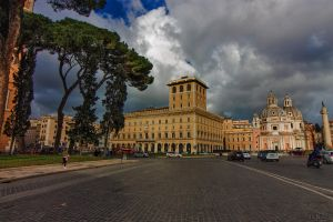 Piazza Venezia III by BillyNikoll