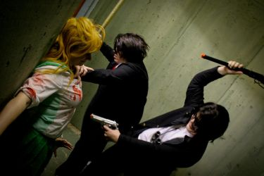Save Me Boys by benihimecosplay