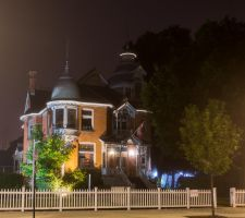 Lawrence House At Night by mandeax
