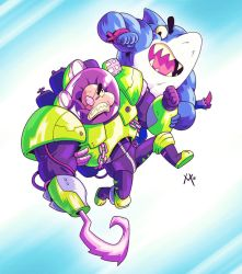 Street Sharks by Mikuloctopus