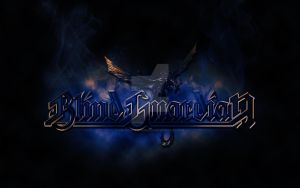 Blind Guardian logo with dragon by croatian-crusader