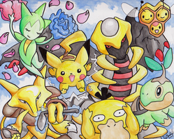 Pokemon Group Picture
