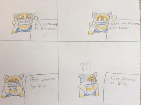 Despicable Magolor by Goofermutt