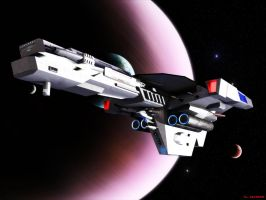 Star Trek TNG era carrier 2 by ILJackson