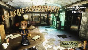Fallout - Vault Boy Charisma Bobblehead Papercraft by g3xter
