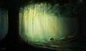 Forest by MariaGulland