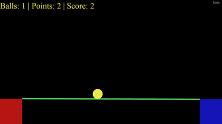 Keep the ball on track (web audio game) by DragonsTEQ