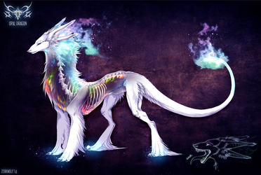 Opal Dragon- auction [closed] by ZerkWolf