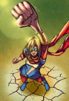 Ms. Marvel (Kamala Khan) by Paraist