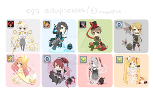 Egg Adoptables | SET 10 [CLOSED] by Erangot