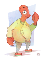 Zoidberg by GoldCart