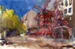 Moulin Rouge, 38x56cm by NiceMinD