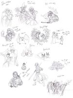 Miscellaneous Sketches 07 by Toradh