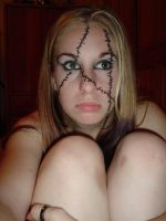 ..Stiched Face 6.. by Bloody-Kisses-STOCK