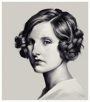 Lady Edith Crawley by ReneAigner