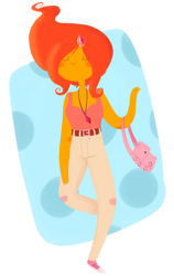 Hipster Flame Princess by CosmicPonye