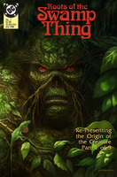 Roots of the Swamp Thing Covered by Ostrander