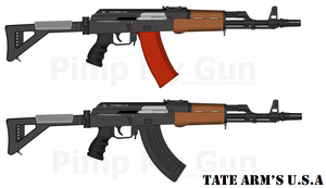 Tate Arm's TAK-74M and TAK-47M by GeneralTate