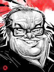 Jack Nicholson by RussCook
