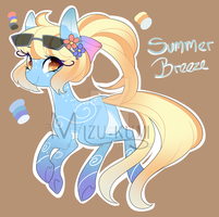 CLOSED Weather Pony 3/4: Summer by MikiAdops