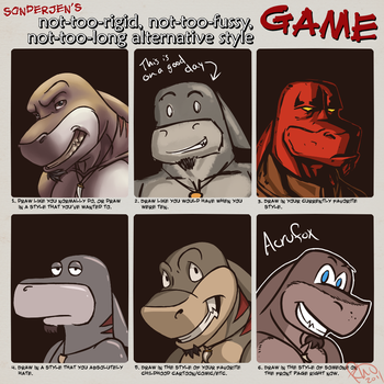 Style meme by Omegaro