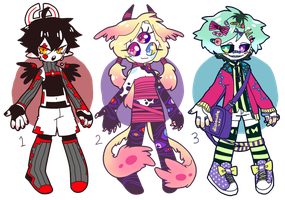 [CLOSED] QT AUCTION ADOPT PILE by fleshcell