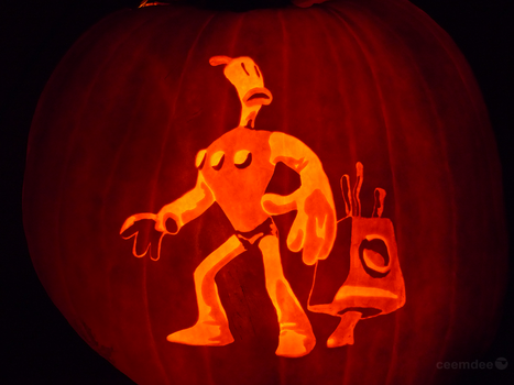The Neverhood Pumpkin by ceemdee
