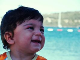 When the baby is smiling by muratcangokce