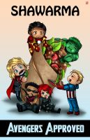 Shawarma. Avengers Approved. by TyrineCarver