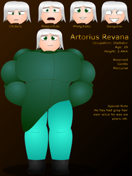 Artorius Revana - Profile by MartmeisterPaladin