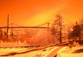 Fort Knox in Infrared by suricata5