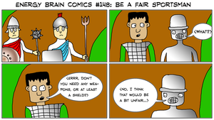 Energy Brain Comics #148: Be A Fair Sportsman by EnergyBrainComics