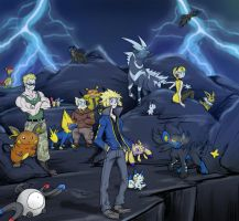 Thunder Pokemon Masters