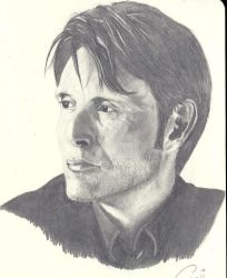 Mads Mikkelsen by cynthp1580
