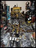 Imperial Knight Supports Imperial Fists 3 by JDHerring