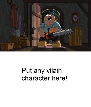 Peter is ready to fight a blank meme by Mroyer782