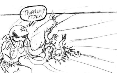 Flytrap's thornwhip attack by rugdog