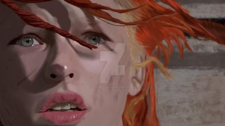 The Fifth Element  - Leeloo by crazyblackwearer