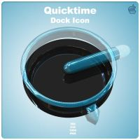 Quicktime Player Dock Icon by AlperEsin