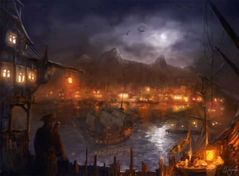Pirate Bay by artificialguy