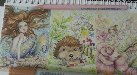 Aceo work by JoannaBromley