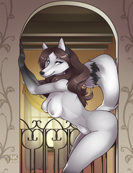 Furries Illustrated 3: Casidhe Nude by INKTigerArt